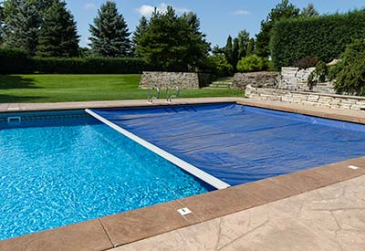 Pool auto covers for Automatic swimming pool covers